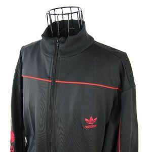 VTG Adidas Arm Spellout Track Jacket